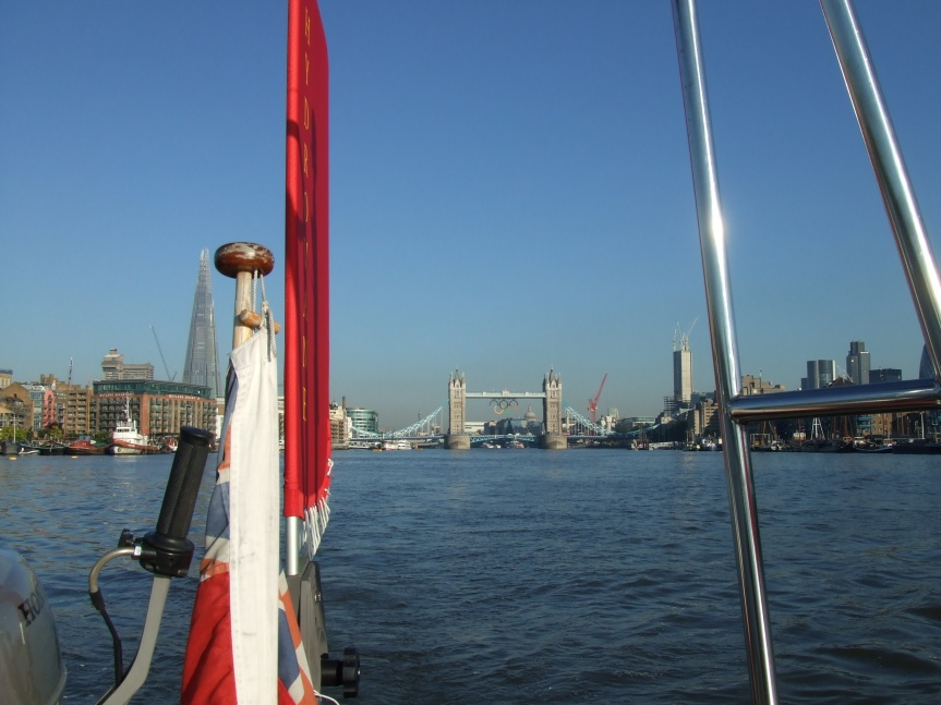 St Katharine's to Queenborough – 24th July2012