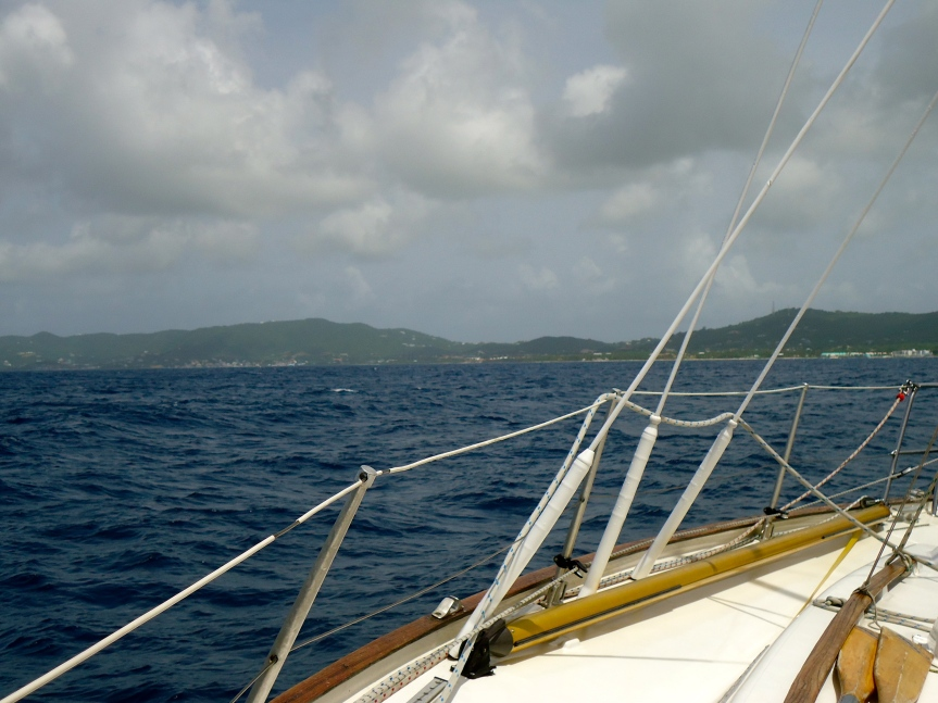 Approaching St Croix
